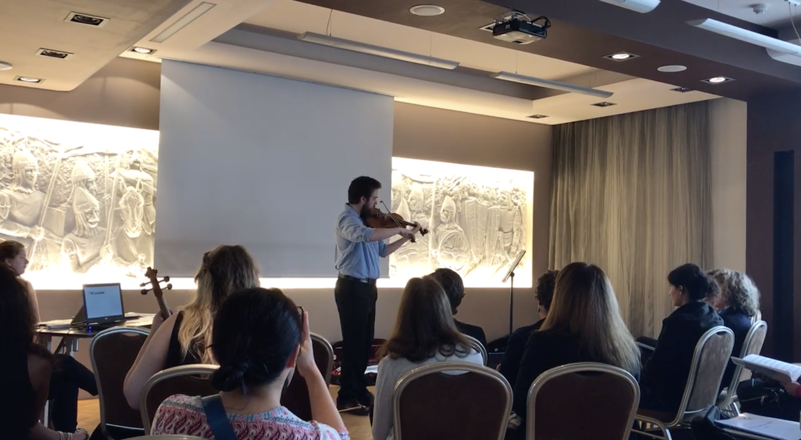 UT Viola Students Travel to Poland for International Viola Congress